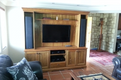 Kiaat TV unit